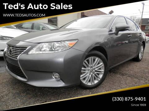 2014 Lexus ES 350 for sale at Ted's Auto Sales in Louisville OH