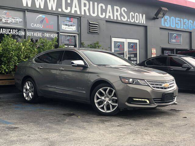 2019 Chevrolet Impala for sale at CARUCARS LLC in Miami FL
