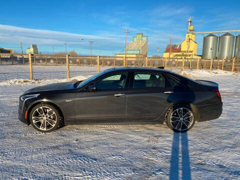 2019 Cadillac CT6-V for sale at Truck Buyers in Magrath AB