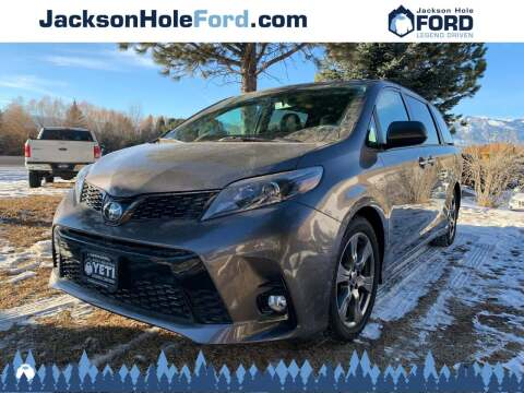 2018 Toyota Sienna for sale at Jackson Hole Ford of Alpine in Alpine WY