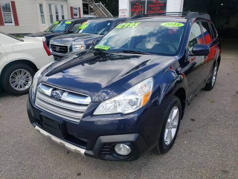 2013 Subaru Outback for sale at TC Auto Repair and Sales Inc in Abington MA