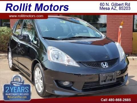 2010 Honda Fit for sale at Rollit Motors in Mesa AZ