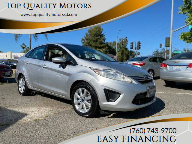 2012 Ford Fiesta for sale at Top Quality Motors in Escondido CA
