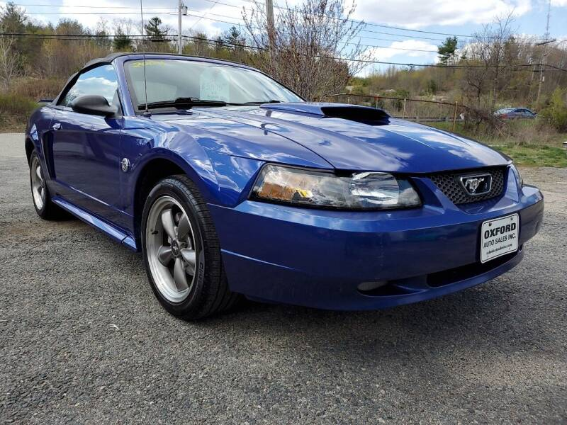 2004 Ford Mustang for sale at Oxford Auto Sales in North Oxford MA