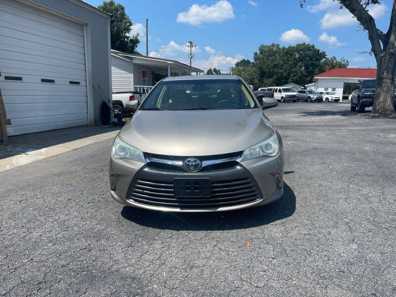 2016 Toyota Camry for sale at Jack Foster Used Cars LLC in Honea Path SC