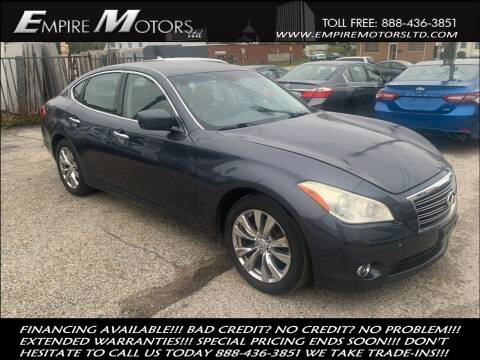 2011 Infiniti M37 for sale at Empire Motors LTD in Cleveland OH