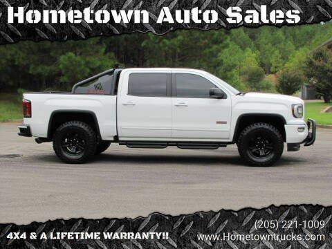 2017 GMC Sierra 1500 for sale at Hometown Auto Sales - Trucks in Jasper AL