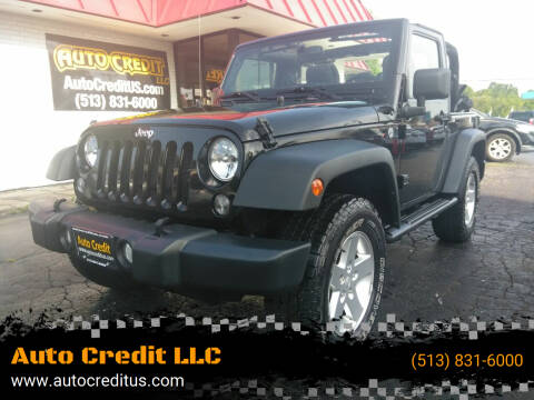2014 Jeep Wrangler for sale at Auto Credit LLC in Milford OH