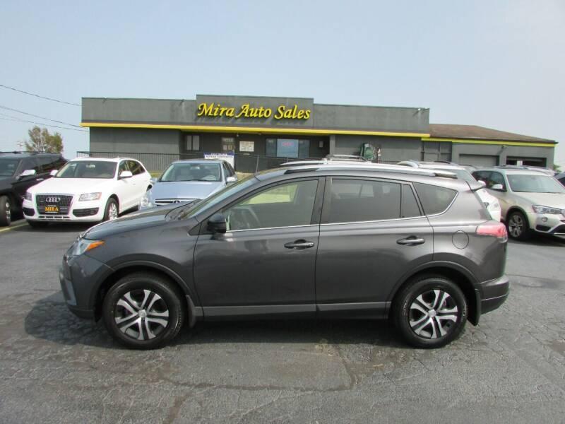 2017 Toyota RAV4 for sale at MIRA AUTO SALES in Cincinnati OH