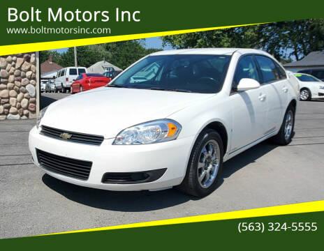 2008 Chevrolet Impala for sale at Bolt Motors Inc in Davenport IA