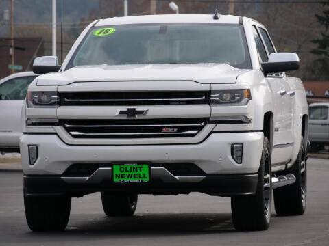 2018 Chevrolet Silverado 1500 for sale at CLINT NEWELL USED CARS in Roseburg OR