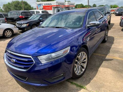 2013 Ford Taurus for sale at 1st Stop Auto in Houston TX