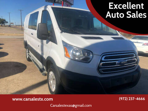 2015 Ford Transit Cargo for sale at Excellent Auto Sales in Grand Prairie TX