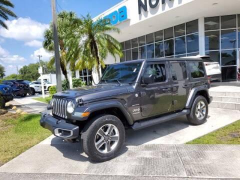 2018 Jeep Wrangler Unlimited for sale at Mazda of North Miami in Miami FL