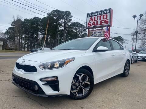 2019 Kia Forte for sale at Carafello's Auto Sales in Norfolk VA