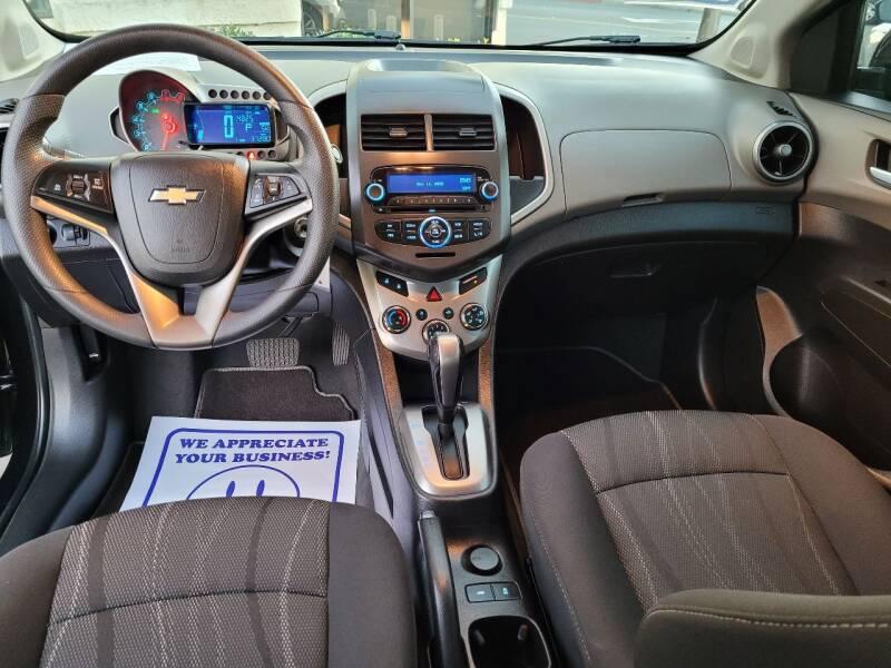 2014 Chevrolet Sonic LT Auto 4dr Sedan - Escondido CA