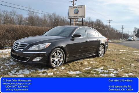 2014 Hyundai Genesis for sale at Or Best Offer Motorsports in Columbus OH