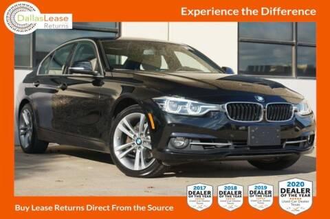 2017 BMW 3 Series for sale at Dallas Auto Finance in Dallas TX