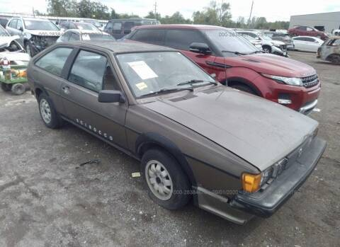 1985 Volkswagen Scirocco for sale at OVE Car Trader Corp in Tampa FL