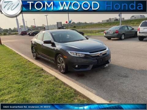 2017 Honda Civic for sale at Tom Wood Honda in Anderson IN