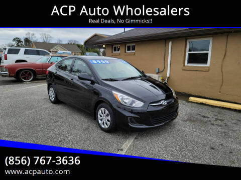 2017 Hyundai Accent for sale at ACP Auto Wholesalers in Berlin NJ