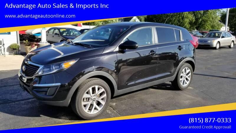 2016 Kia Sportage for sale at Advantage Auto Sales & Imports Inc in Loves Park IL