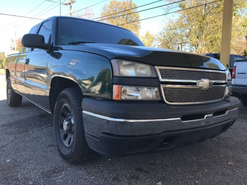 2007 Chevrolet Silverado 1500 Classic for sale at King Louis Auto Sales in Louisville KY