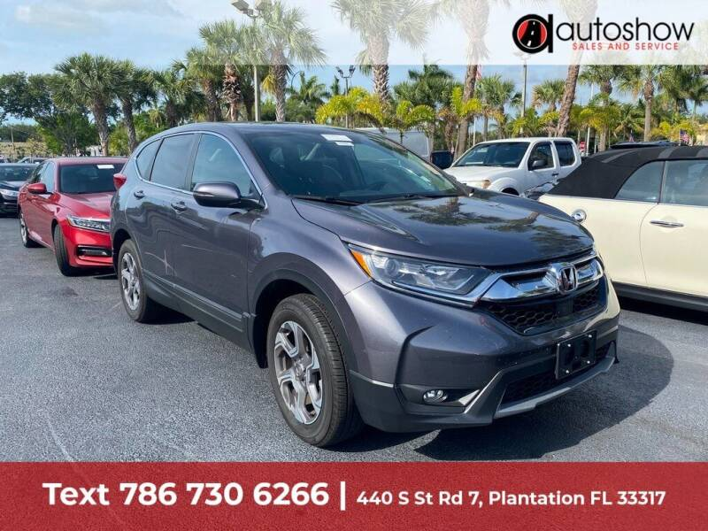 2019 Honda CR-V for sale at AUTOSHOW SALES & SERVICE in Plantation FL