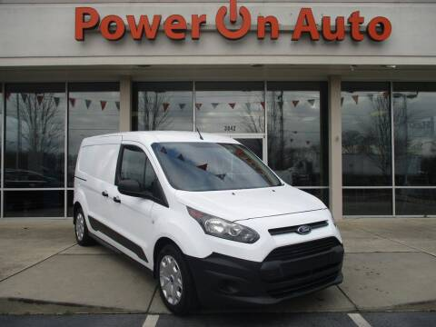 2017 Ford Transit Connect Cargo for sale at Power On Auto LLC in Monroe NC