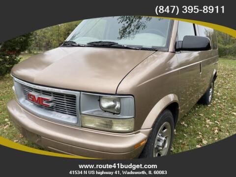 2005 GMC Safari for sale at Route 41 Budget Auto in Wadsworth IL