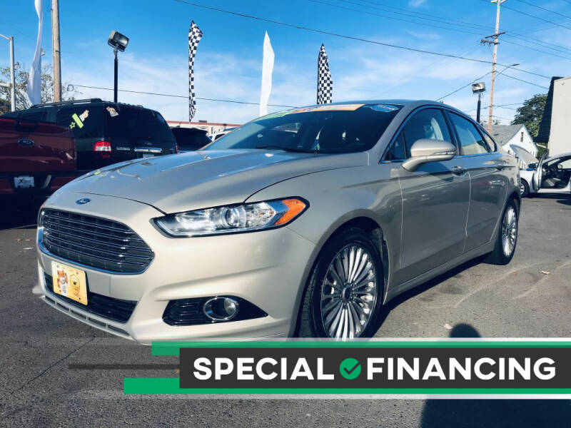 2016 Ford Fusion for sale at Salem Auto Market in Salem OR