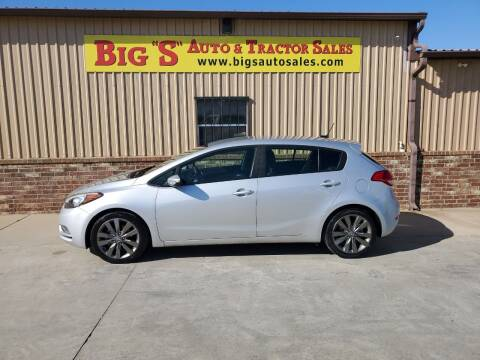 2016 Kia Forte5 for sale at BIG 'S' AUTO & TRACTOR SALES in Blanchard OK