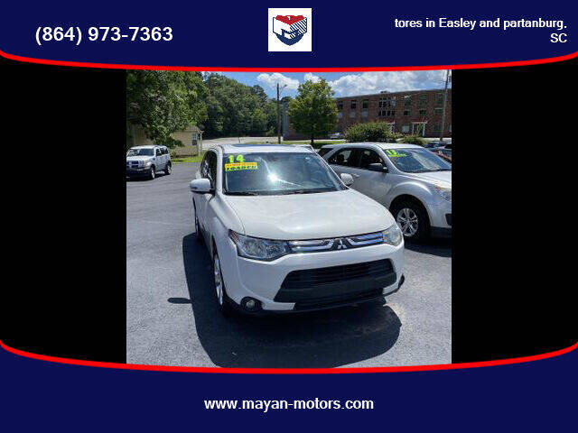 2014 Mitsubishi Outlander for sale at Mayan Motors Easley in Easley SC