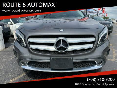 2015 Mercedes-Benz GLA for sale at ROUTE 6 AUTOMAX in Markham IL
