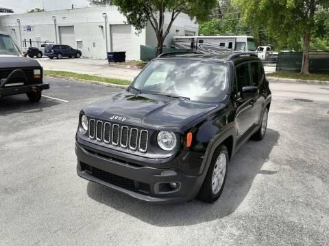 2017 Jeep Renegade for sale at Best Price Car Dealer in Hallandale Beach FL