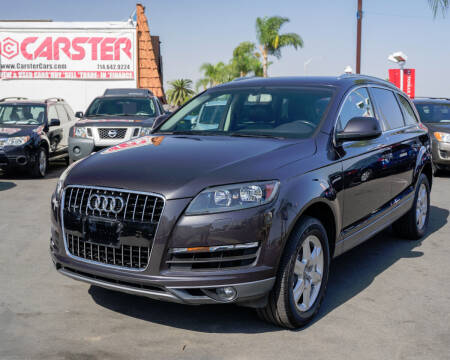 2012 Audi Q7 for sale at CARSTER in Huntington Beach CA