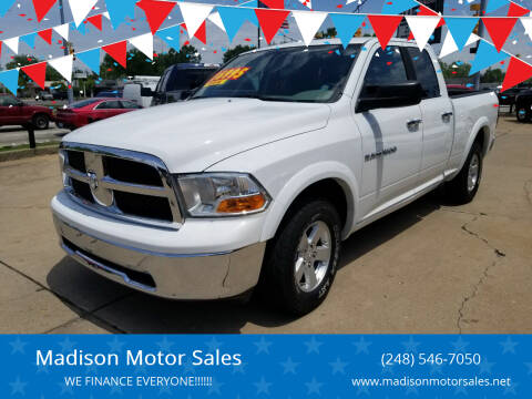 2012 RAM Ram Pickup 1500 for sale at Madison Motor Sales in Madison Heights MI