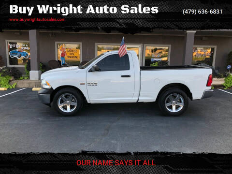 2015 RAM Ram Pickup 1500 for sale at Buy Wright Auto Sales in Rogers AR