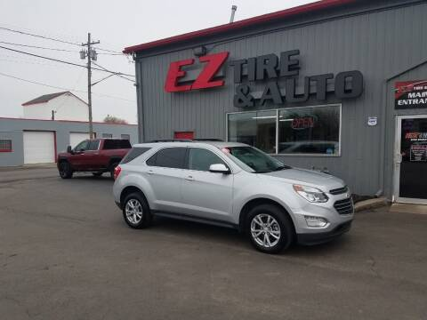 2017 Chevrolet Equinox for sale at EZ Tire & Auto in North Tonawanda NY