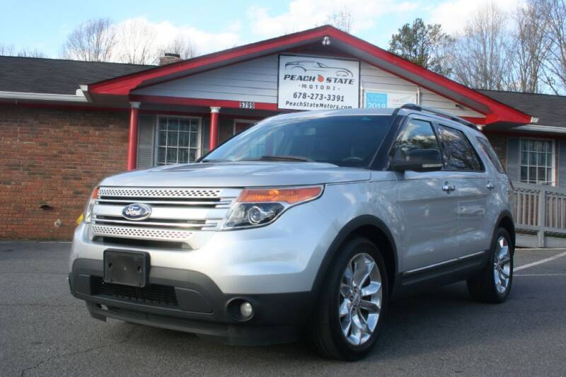 2012 Ford Explorer for sale at Peach State Motors Inc in Acworth GA