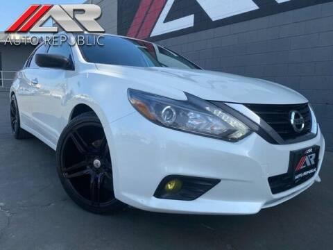 2017 Nissan Altima for sale at Auto Republic Fullerton in Fullerton CA