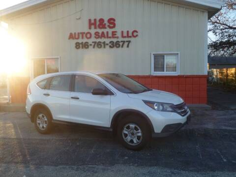 2014 Honda CR-V for sale at H & S Auto Sale LLC in Grandview MO