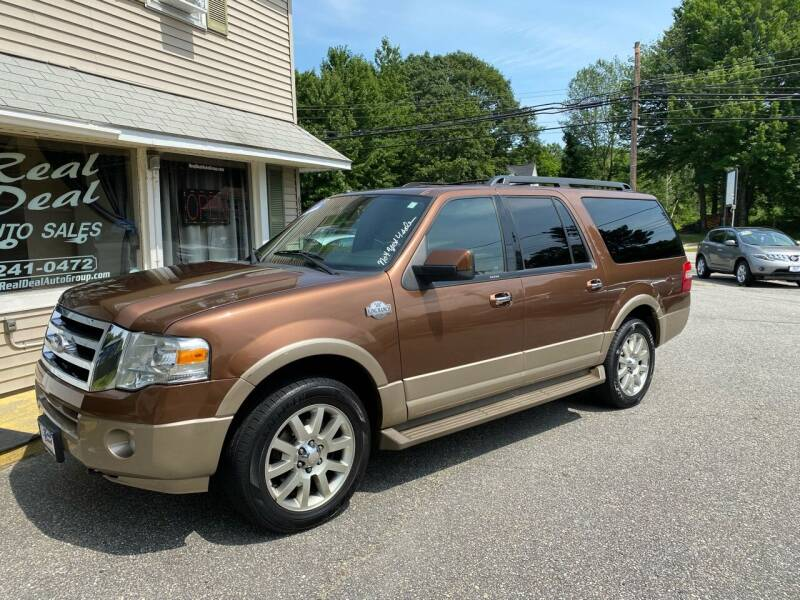 2011 Ford Expedition EL for sale at Real Deal Auto Sales in Auburn ME