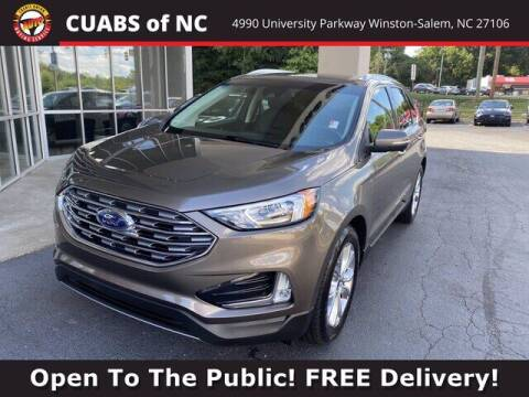 2019 Ford Edge for sale at Credit Union Auto Buying Service in Winston Salem NC