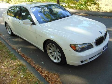 2007 BMW 7 Series for sale at LA Motors in Waterbury CT