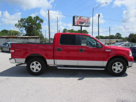 2005 Ford F-150 for sale at Checkered Flag Auto Sales EAST in Lakeland FL