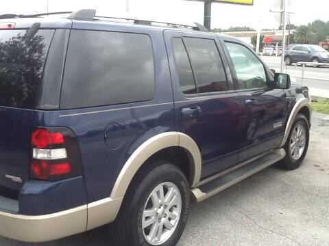 2007 Ford Explorer for sale at Easy Credit Auto Sales in Cocoa FL