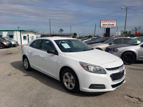 2016 Chevrolet Malibu Limited for sale at Jamrock Auto Sales of Panama City in Panama City FL