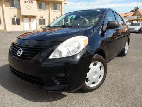 2014 Nissan Versa for sale at Best Auto Buy in Las Vegas NV