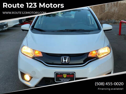2015 Honda Fit for sale at Route 123 Motors in Norton MA